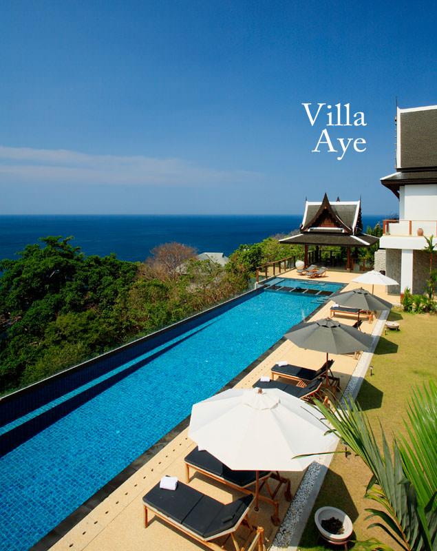 Villa Aye luxury Villa rentals Phuket