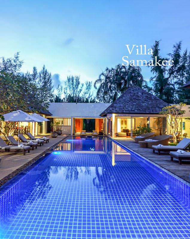 Phuket Villa Samakee rentals